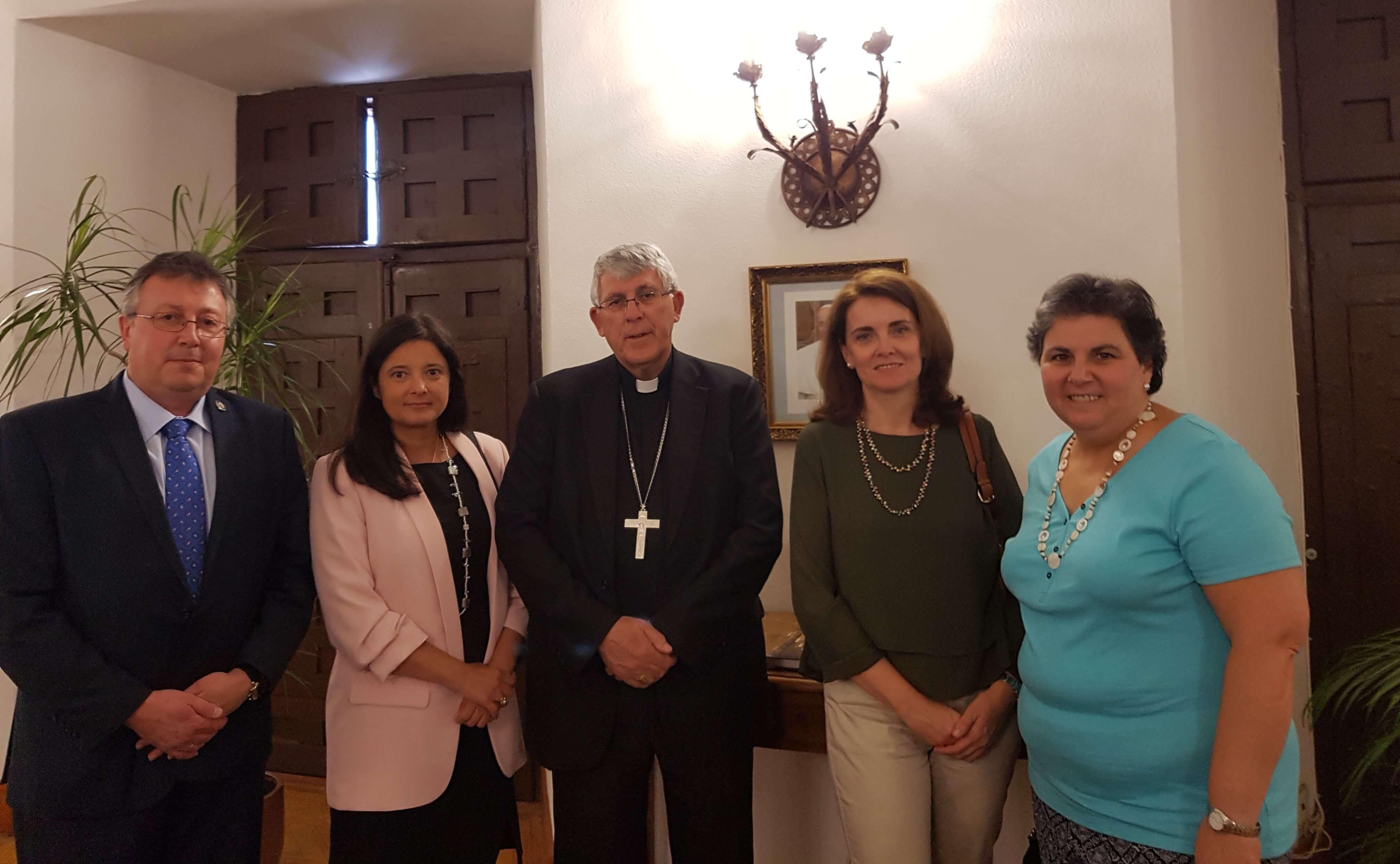 El Arzobispo de Toledo recibe a la nueva directiva de CONCAPA Toledo