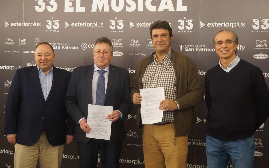 Acuerdo CONCAPA y 33 El Musical