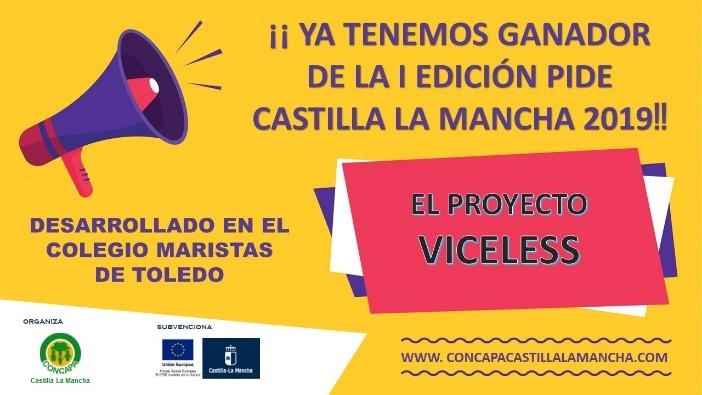 Colegio Marista Toledo gana la primera edición del Proyecto de Iniciación al Descubrimiento Emprendedor, PIDE-CLM 2019